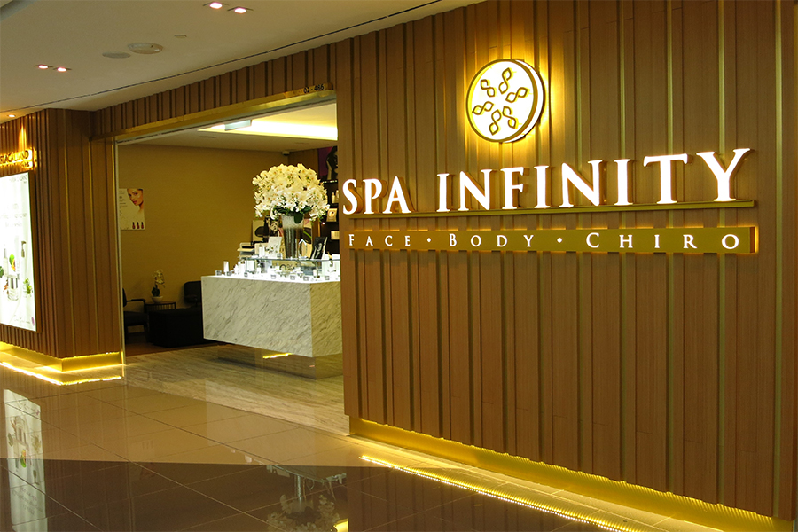 Spa Infinity Spa Infinity - Suntec City Mall Latest Promotions, Services, Operating Hours - Daily Vanity Salon Finder