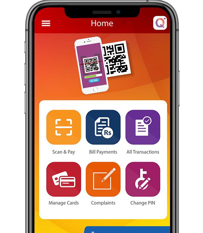 Q+ Payment App