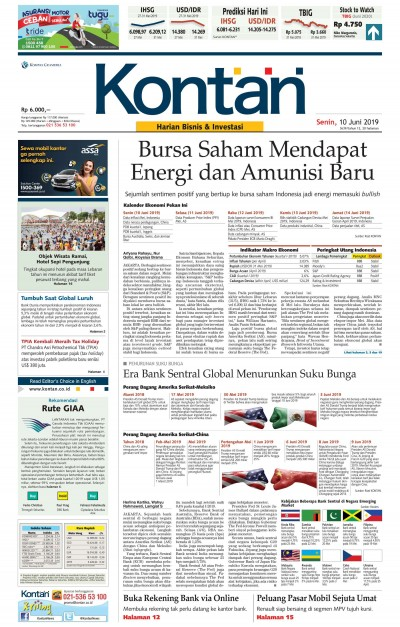Kontan Harian - 10 Juni 2019