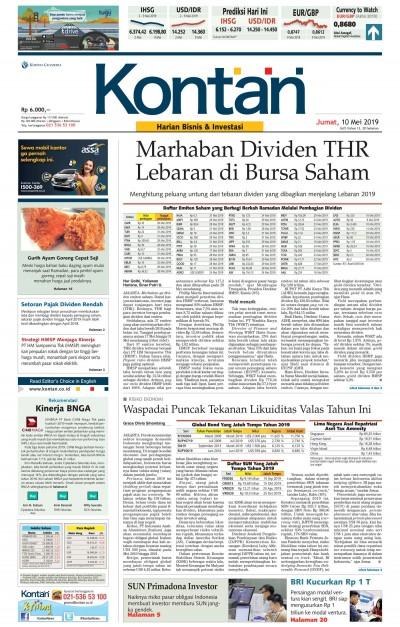 Kontan Harian - 10 Mei 2019