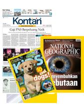 Harian Kontan + NG Indonesia + NG Kids