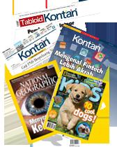Kontan Komplet + NG Indonesia + NG Kids
