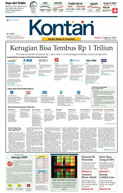 Kontan Harian - 06 Agustus 2019
