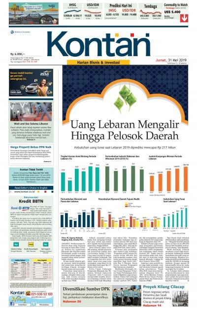 Kontan Harian - 31 Mei 2019