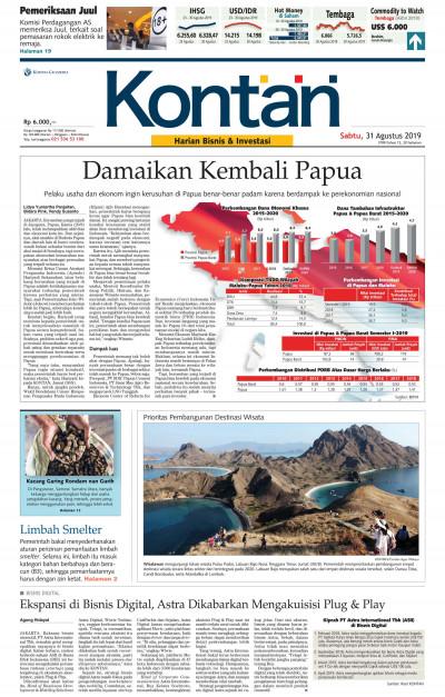 Kontan Harian - 31 Agustus 2019