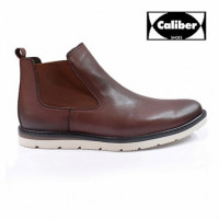 Spruce up your look wearing these stylish boots from Caliber Shoes. Made of suede, these boots are extremely durable. To receive the attention of the fashion hub, pair these boots with skinny-fit jeans and white t-shirt. Size available: 38, 39, 40, 41, 42, Color: Wine-Red