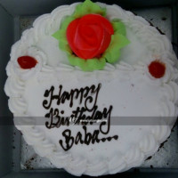 This is a classic vanilla delightful white colored cake with subtle flavor. It is very fluffy, light, and moist with simple and delicate flavor. This cake will be a perfect gift for someone who does like mild flavors. It is suitable for all occasions, ages and also to surprise your loved one.  All cakes are baked with hygiene and quality in the top of our priority at our own state-of-the-art baking facility and quality checked twice by our expert QC team before delivery. You can send cakes or gifts to your loved ones in Nepal or shop online for yourself in Nepal with UG Bazaar, a pioneer in online shopping in Nepal.