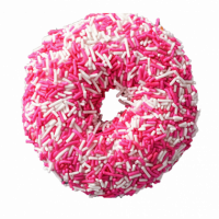 This White and Pink Sprinkled donut is a delicious treat for your tummy. A perfect match for the morning tea or coffee. Buy this donut from UG Bakery and turn any normal mornings into a special one. You can choose your own favorite flavor, designs and place your order online. The minimum order should be twelve pieces.   All bakery items are baked with hygiene and quality in the top of our priority at our own state-of-the-art baking facility and quality checked twice by our expert QC team before delivery. You can send bakery items or gifts to your loved ones in Nepal or shop online for yourself in Nepal with UG Bazaar, a pioneer in online shopping in Nepal.