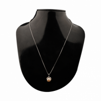This valentine gift your love this pure silver pendant that will always be with her like your love for her.