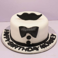 <p>This classy black and white cake are for the classy men. Enjoy this beautiful cake with its delicious flavors. Make your special one more surprise and make the day more memorable. This single deck is rolled with edible delicious black fondant in a gentleman theme. Free home delivery*. The cake can be delivered online, which is the best online cake delivery service in Kathmandu. All cakes are baked with hygiene and quality in the top of our priority at our own state-of-the-art baking facility and quality checked twice by our expert QC team before delivery. You can send cakes or gifts to your loved ones in Nepal or shop online for yourself in Nepal with UG Bazaar, a pioneer in online shopping in Nepal.</p>