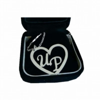 Pure Silver Infinity Name Pendants are available at UG. Customize your own design in the Pendant. Free Home Delivery*.