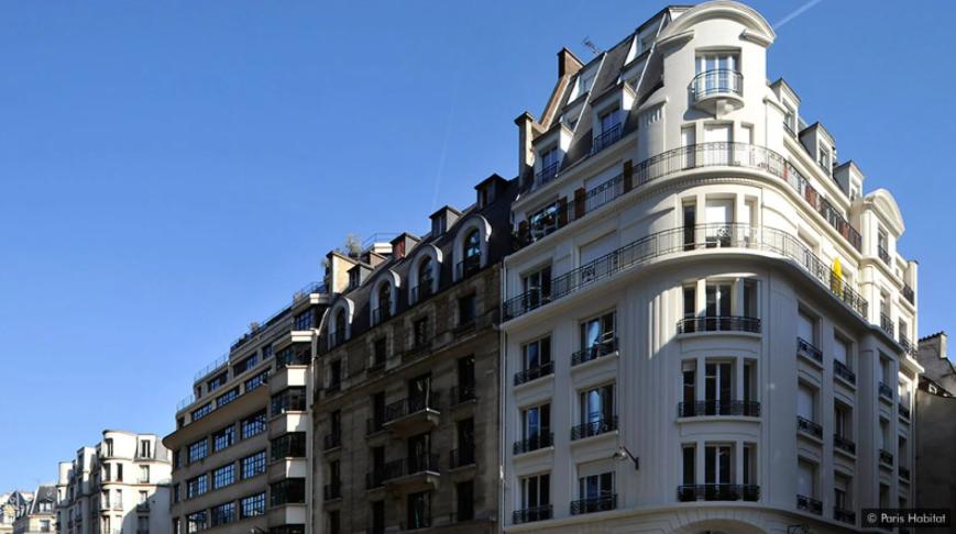 Paris Habitat at Rue de Beaubourg, Paris