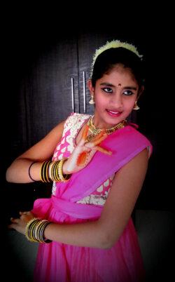 Gauri is a bharatnatyam dance student