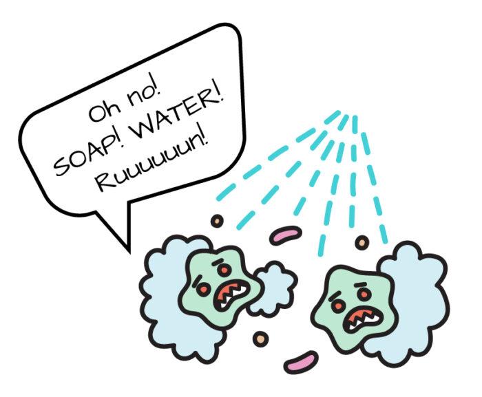 beware of soap