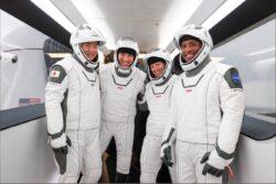 Image of Crew-1 astronauts
