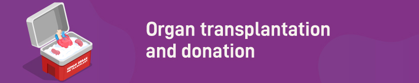 invention of organ transplantation and donation techniques