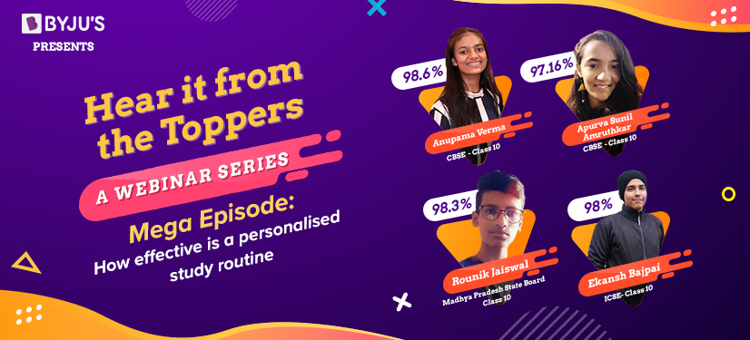 BYJU'S Topers revel their studying hacks