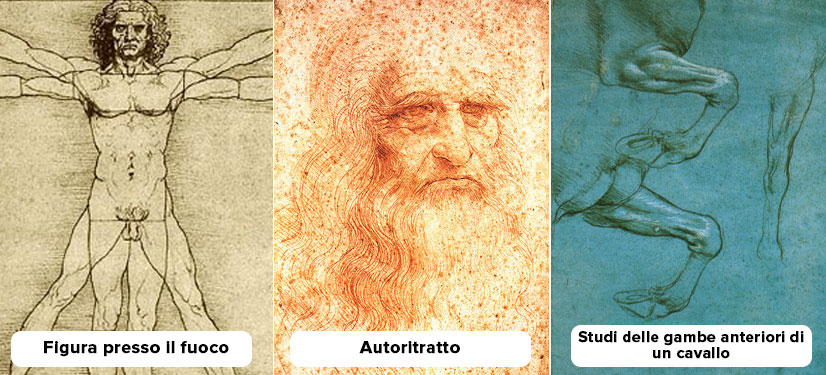 Mysterious attackers are found on seven of Leonardo da Vinci's famous paintings.