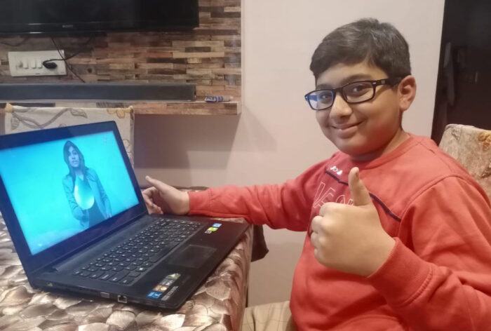 Parth loves BYJU'S visualization method with its fun videos and animations