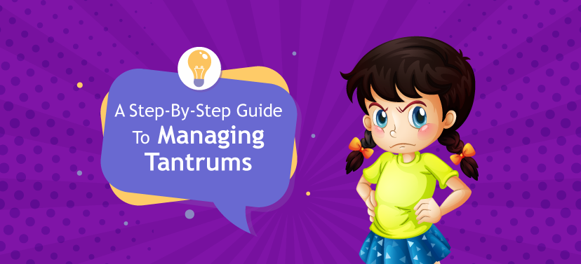 Tame Tantrum 4 Easy Steps