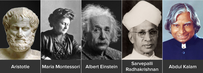 Famous Teachers in History