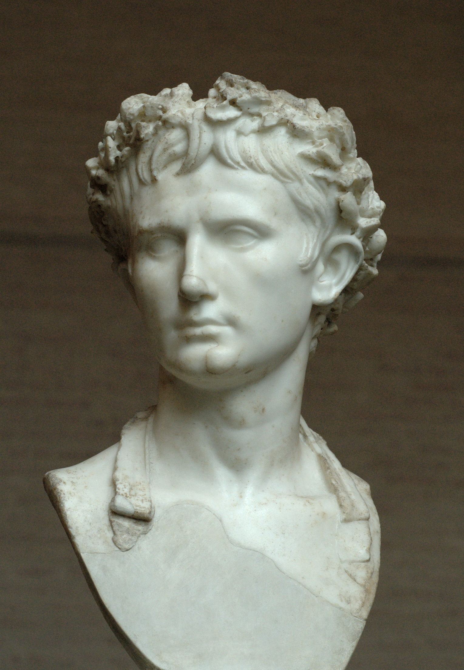 Statue of Augustus Caeser. Image source: Wikimedia Commons