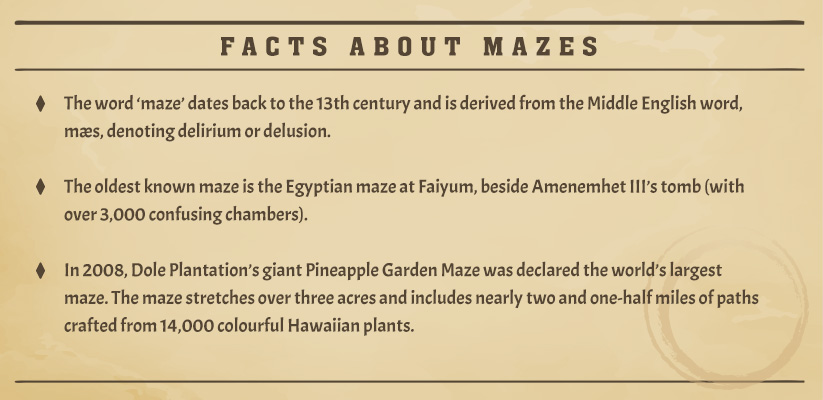 Facts about mazes