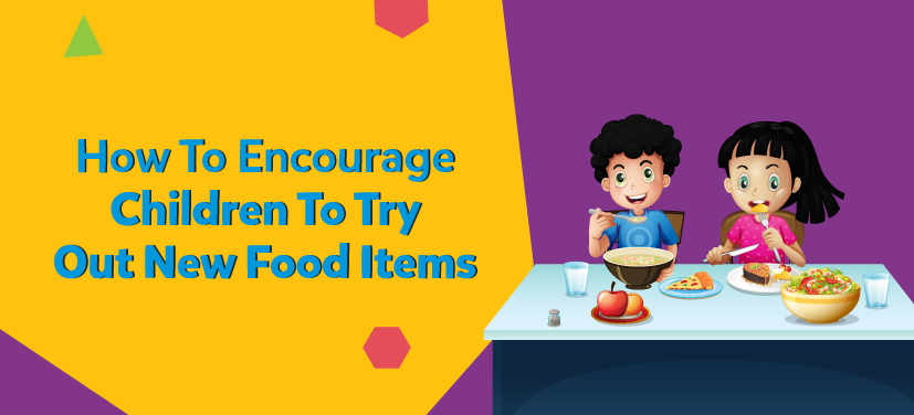 introducing new food items to children