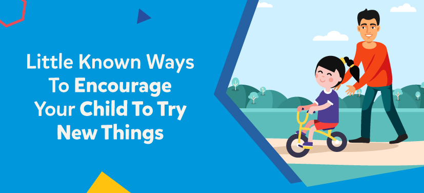 encourage children try new things
