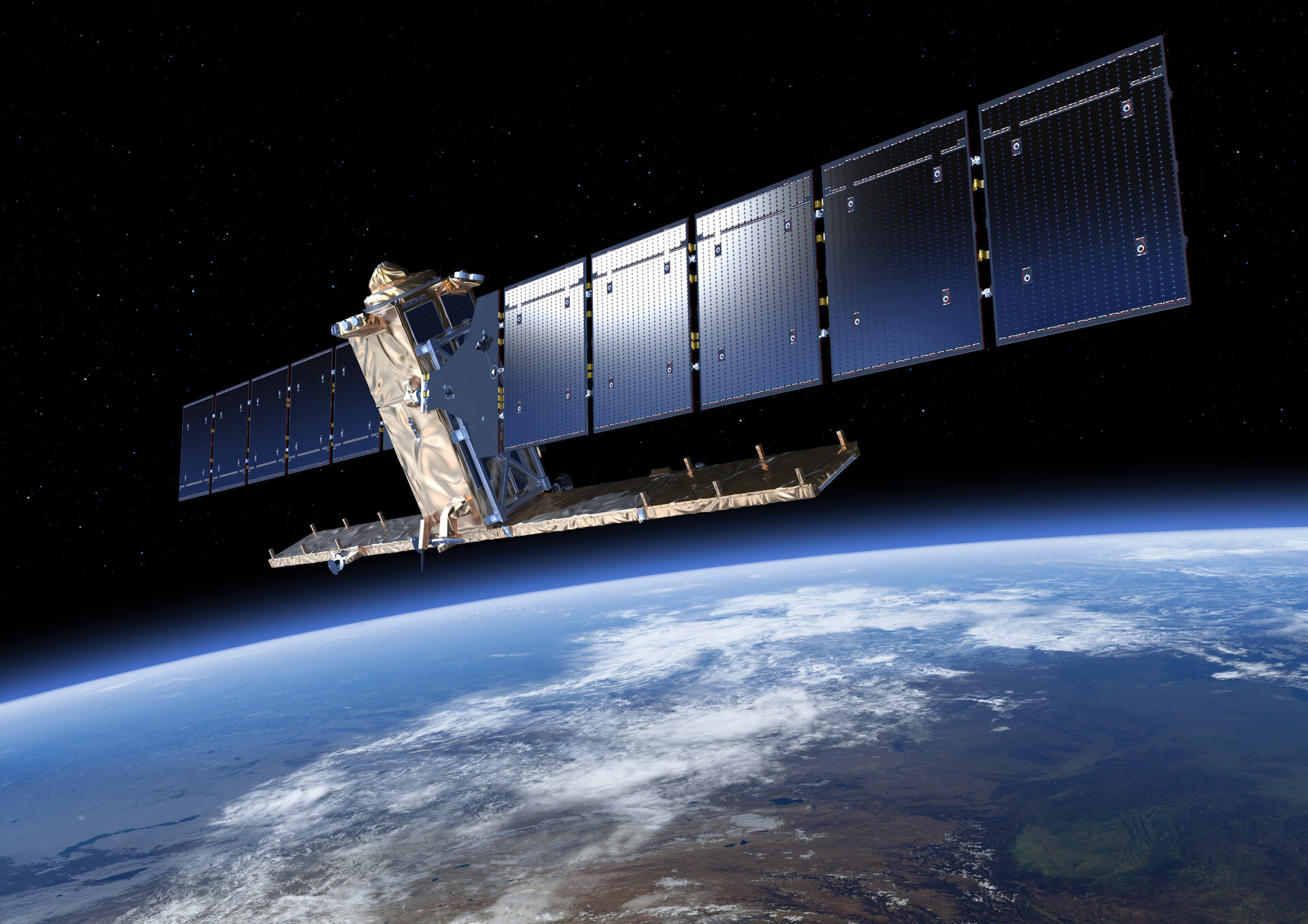 The USNIC uses remote sensors on polar-orbiting satellites to analyse and forecast all possible ice conditions in the Arctic, Antarctic, Great Lakes of North America and Chesapeake Bay in the United States. | In Picture: Sentinel-1 captured by ESA