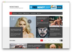 mẫu thiết kế website