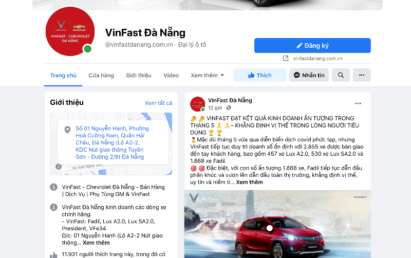 Vinfast Đà Nẵng