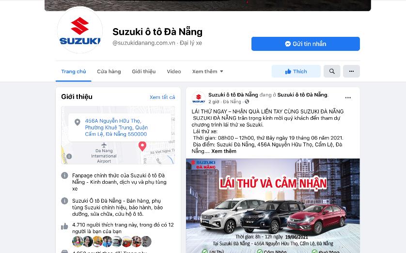 Suzuki Đà Nẵng