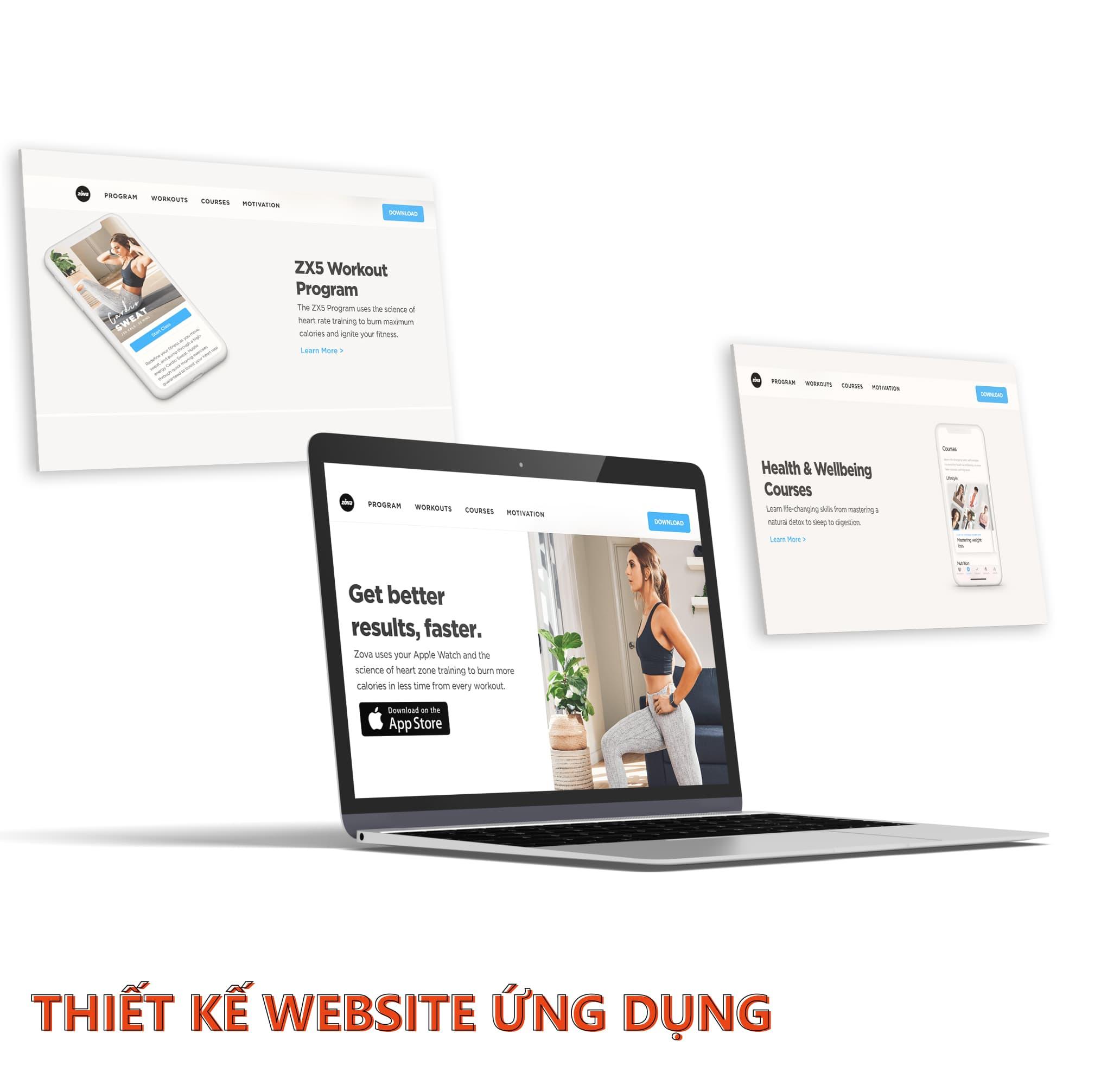 GIẢI PHÁP PHÁT TRIỂN WEBSITE ỨNG DỤNG TOÀN DIỆN