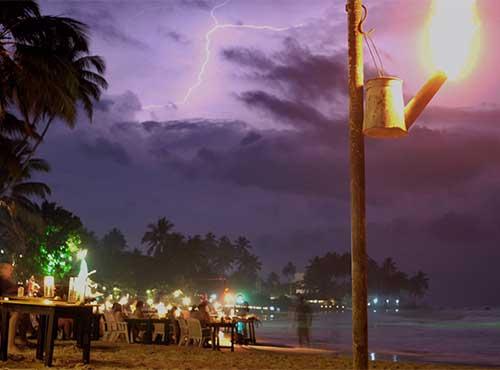 Nightlife of Mirissa Sri Lanka