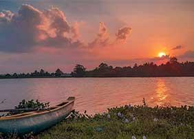 Wilpattu National Park sun set