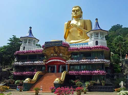 dambulla cove temple sri lanka