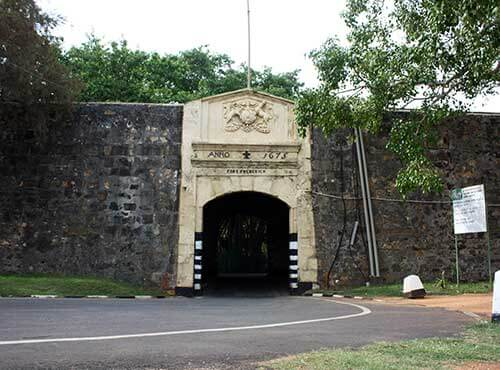 Galle Gate Sri Lanka