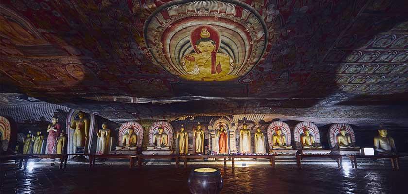 Dambulla Curve Temple