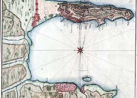 trincomalee harbour old map