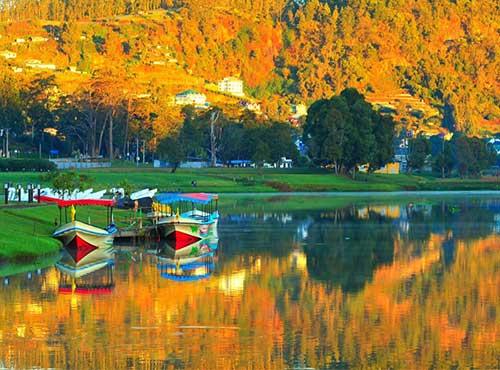 nuwara eliya george lake sri lanka