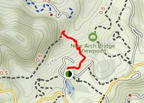 9 arch bridge map