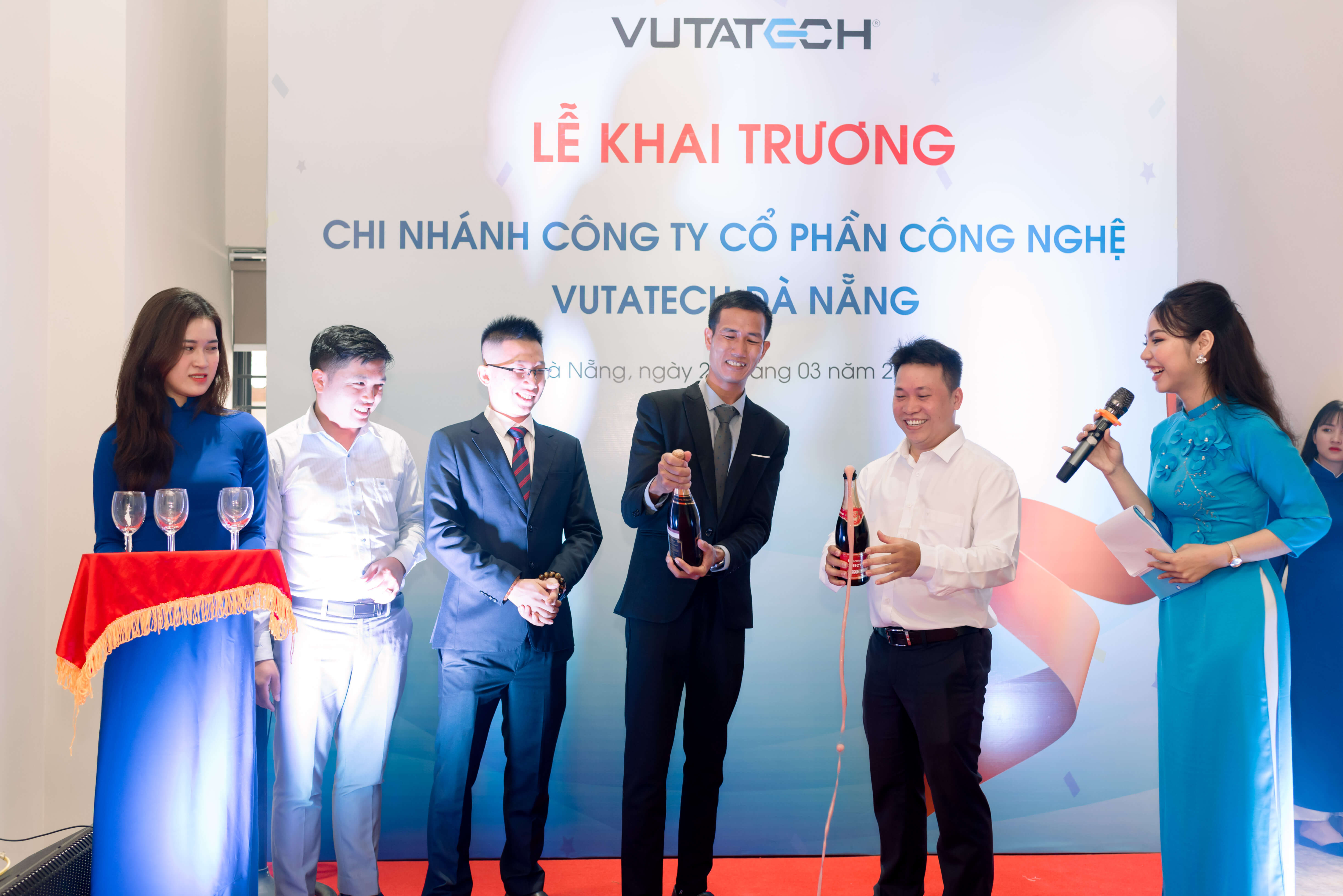 VUTATECH OPENING A NEW OFFICE IN DA NANG CITY