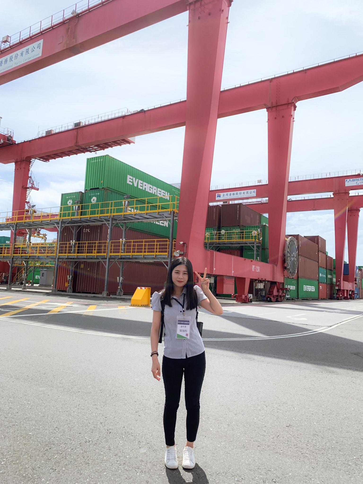 參與台灣港務股份有限公司-獎學就業計畫 - 大四暑假到港務公司實習