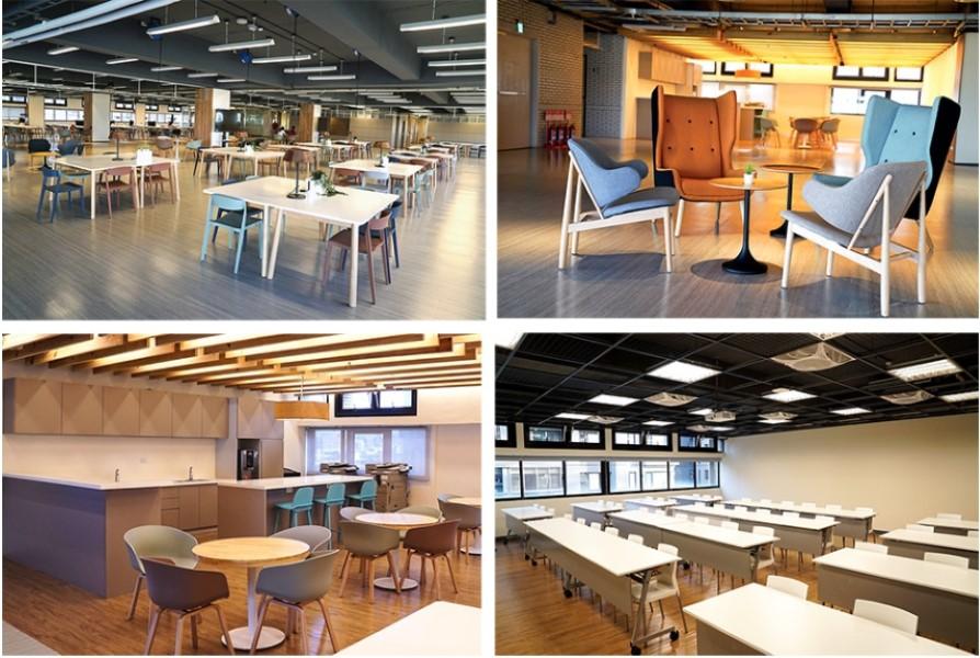商學院七樓更設有專屬商學院研究生之學習空間