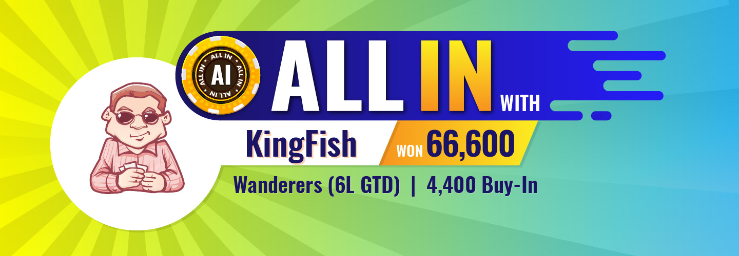 All In With KingFishBanner