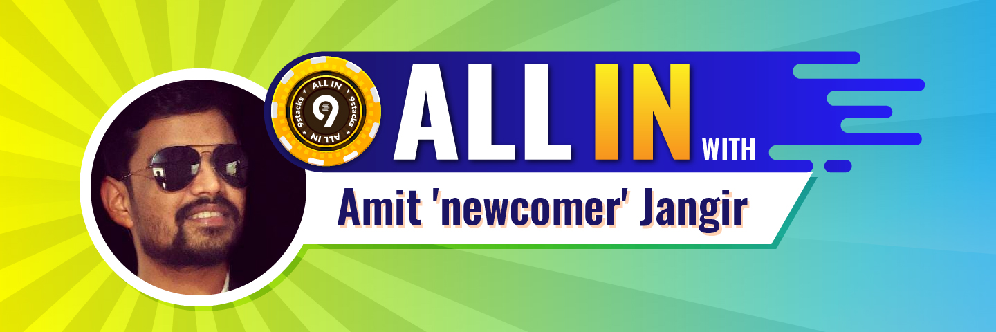 Satty Star Of the Month: Amit 'newcomer'JangirBanner