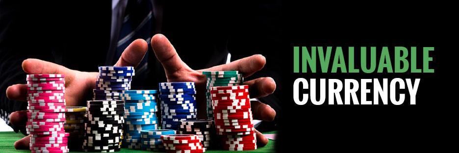 Invaluable currency - Life of a poker chipBanner