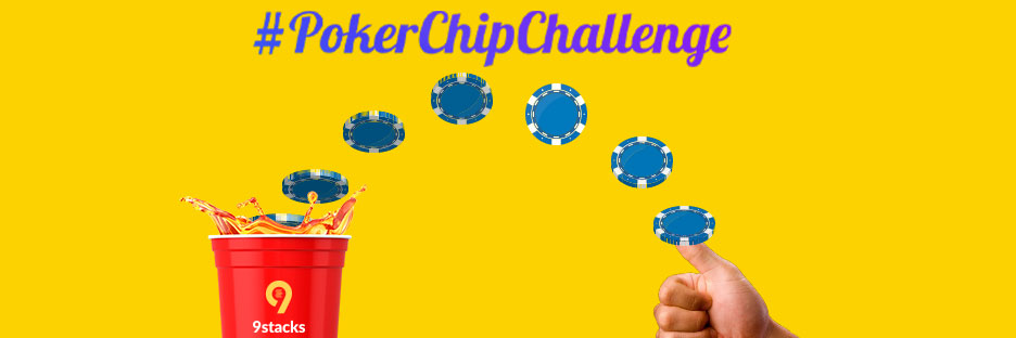 Just launched: The #PokerChipChallengeBanner