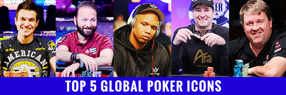 Top 5 Global Poker LegendsBanner
